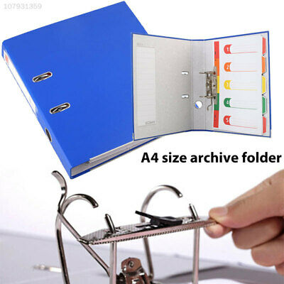27FB Lever Arch A4 Files Folders A4 File Storage Blue Filing Large Capacity