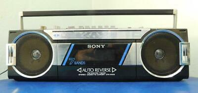 Classic 1980s SONY AM/FM/SW Radio Tape Recorder Ghetto Blaster CFS-900S