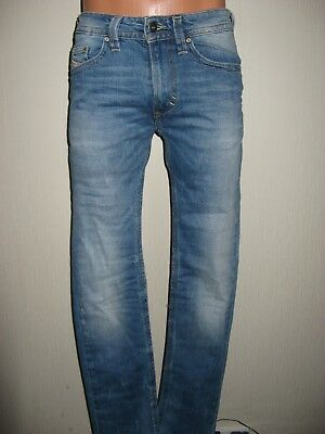Worn Once Boys Pale Blue Diesel Thavar J Stretch Slim Skinny Leg Jeans Age 12-13
