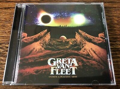 Greta Van Fleet - Anthem of the Peaceful Army PRE OWNED CD
