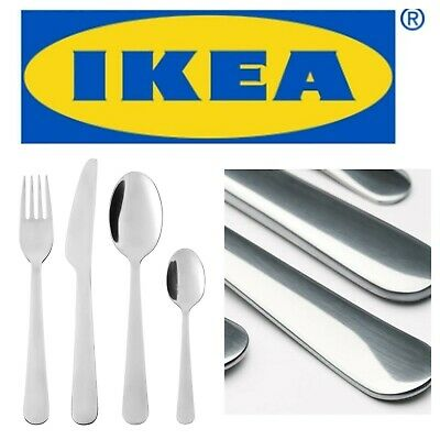IKEA DRAGON 24 Piece Cutlery Set  Stainless Steel Fork Spoon New