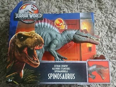RARE Exclusive Jurassic World Legacy Collection Extreme Chompin' Spinosaurus NEW