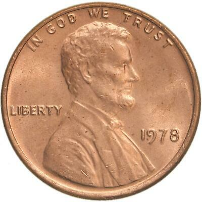 1978 Lincoln Memorial Cent Choice BU Penny US Coin