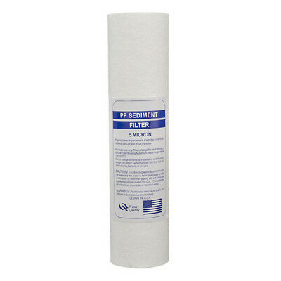 10 Inch 5-Micron Sediment PP Cotton Filter System For Water Purifier