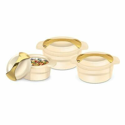 Insulated Serving Dishes - 3 Piece Thermal Hot Food Containers 1, 1.5 L, 2.5L