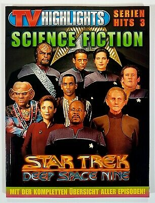 TV Highlights SCIENCE FICTION Episodeguide STAR TREK - DEEP SPACE NINE dt. 192S.