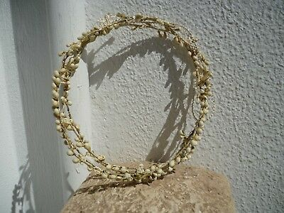 1920's French antique,wedding tiaras,bride & grooms,matching pair,boxed