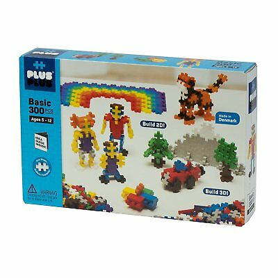 Instructed Play Set PLUS PLUS Construction Building Toy 480 Piece Dinosaurs