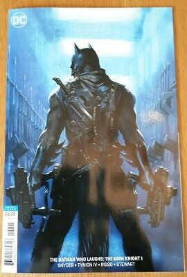 The Batman Who Laughs: The Grim Knight #1 Gabrielle Dell'otto Variant. Nm.