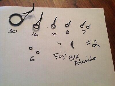Fuji Alconite K-Series• KWAG 7 Guide Spin Set Size 50 to 12 Free Shipping