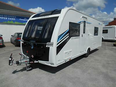 2017 Lunar Clubman Sb 4 Berth Luxury Twin Fixed Beds Touring Caravan