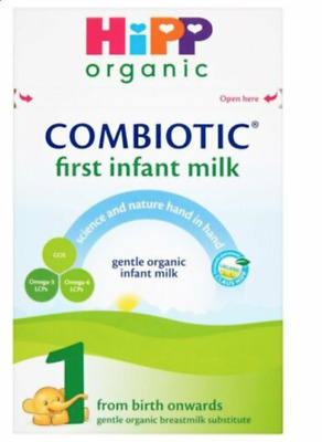 Hipp Organic Combiotic First Infant Milk Powder 800g Stage 1