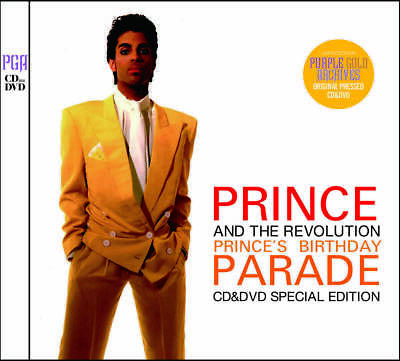 Prince And The Revolution / Prince's Birthday Parade Cd&Dvd Special Edition F/S