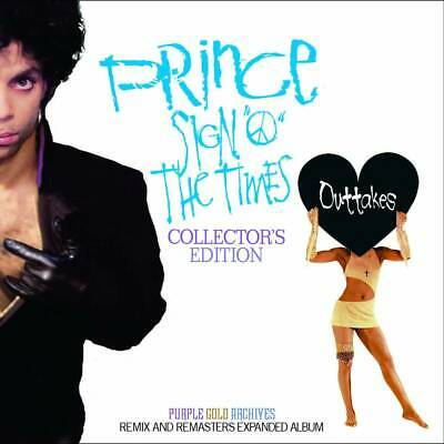 Prince Sign 'O' The Times Outtakes Collector's Edition Remix And Remasters F/S