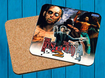 The House Of The Dead 2 Sega Dreamcast Posavasos Madera Wooden Coasters