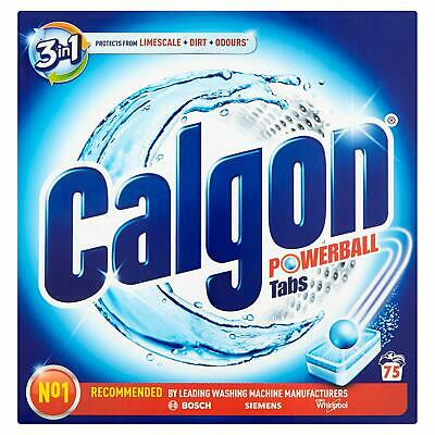 Calgon Tablets 3-in-1 Water Softener - 75 Tablets