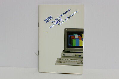 Ibm Personal System/2 Ps/2 Model 30 286 Guide To Operations Manual 90X7109