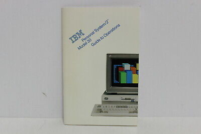 Ibm Personal System/2 Ps/2 Model 30 Guide To Operations Manual 33F6343