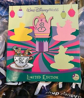 Disney Alice In Wonderland Mad Hater Annual Passholder Pin LE 3000 New In Hand