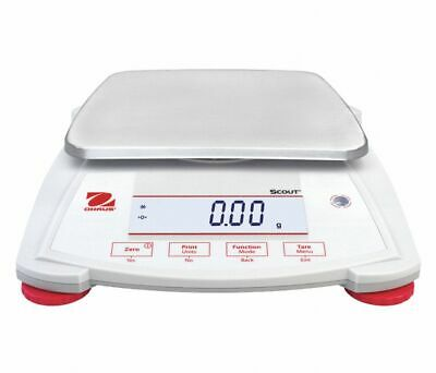 OHAUS SPX2202 DIGITAL LCD COMPACT BENCH SCALE, 2200g CAPACITY, 49WA14, NEW!