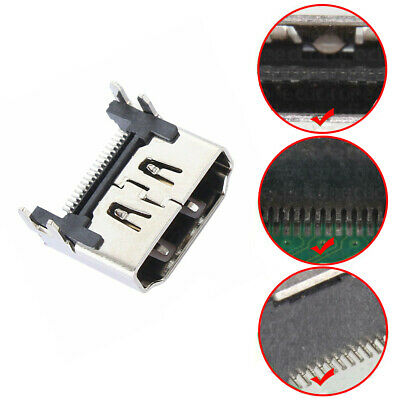 Fits PS4 HDMI Port Socket Interface Connector Replacement.For Sony Playstation 4