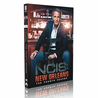 NCIS New Orleans Season 4 Fourth Complete TV Series DVD Collection Box Set New