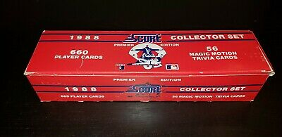 1988 Score Baseball Set Pick Your Team See Checklist