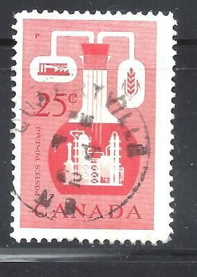 """Canada Son Town Cancel """"Quarryville New Brunswick"""" Scott 363 Vf Used (Bs13086)"""