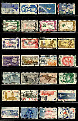 4 Cent 80 Stamps Lot 1957-1961 Used