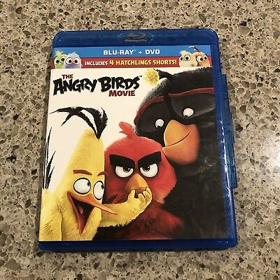 The Angry Birds Movie (Blu-ray DVD, 2016, Includes Digital Copy)