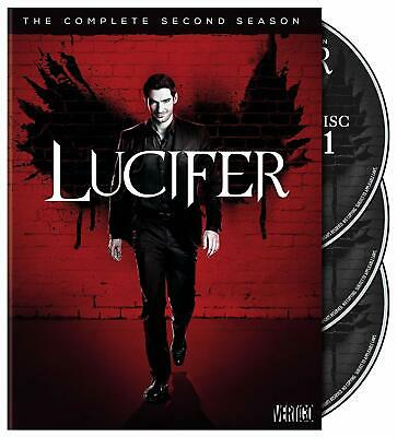 Lucifer Season 2 Complete Collection DVD Box Set Second TV Series NEW