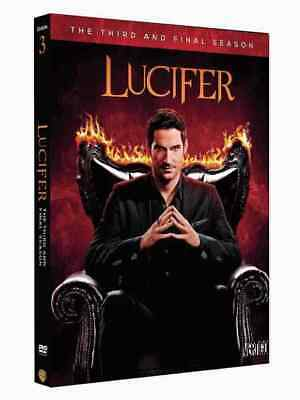 Lucifer Season 3 Complete Collection DVD Box Set Third TV Series NEW