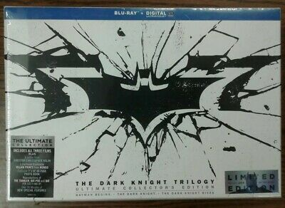 The Dark Knight Trilogy Ultimate Collector's Edition (BR, 2013, 6-disc Set)
