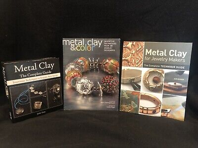 Metal Clay and Color Books Set Of 3