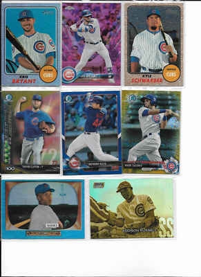 Chicago Cubs Lot of (800) SP Auto Relic Serial # RC Inserts HOF Dealer Lot!