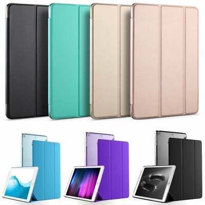 "Smart Slim Magnetic Leather Stand Case Cover For New Apple iPad 9.7"" 2017 / 2018"