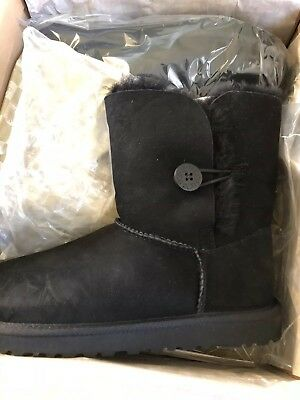 ed724b3f842 UGG AUSTRALIA CRYSTAL Bailey Button Boot Fur Lined Shoe 8- 39 In ...
