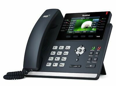 Yealink SIP-T46G IP Phone 16 SIP Gigabit Colour Display IP Phone (Brand New)