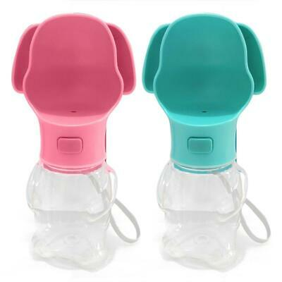 500ml Portable Folding Pet Dog Water Bottle Outdoor Cat Feeding Drink Cup R1BO