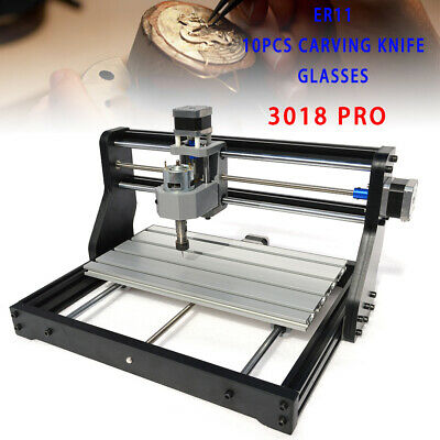 CNC 3018 DIY CNC Router Kit 2in1 Mini Engraving Injection Machine GRBL 3 Axis AU