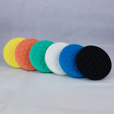 Chemical Guys 5 inch Hex Logic Pads Full Kit - Polishing Pads Set