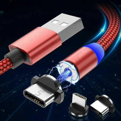 Magnetic USB Charging Sync Data Cable Type C for Samsung Huawei Xiaomi OnePlus