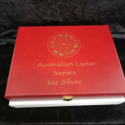 Coin Display Box -Suitable for Perth Mint Lunar 1oz Silver Series II Collection