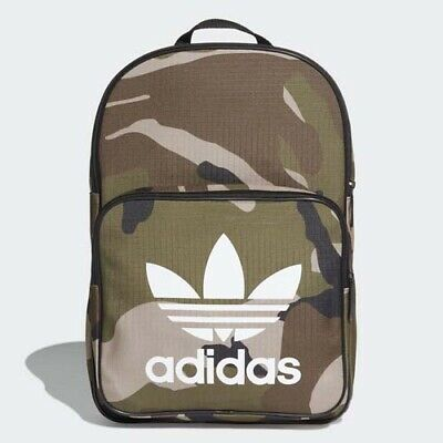 ADIDAS CLASSIC BACKPACK CAMO Black Multicolor daypack