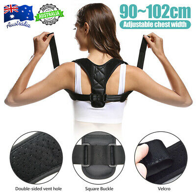 Correct Posture Clavicle Support Corrector Back Straight Shoulders Brace Strap