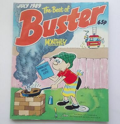 The Best of Buster Monthly July 1989 Collectable Childrens Kids Comic  UK