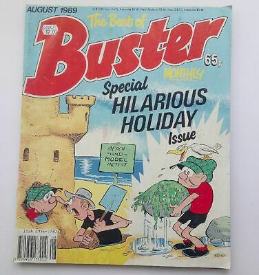 The Best of Buster Monthly August 1989 Collectable Childrens Kids Comic  UK