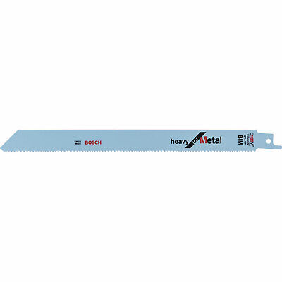 Bosch S1025VF Metal Cutting Reciprocating Saw Blades Pack of 25