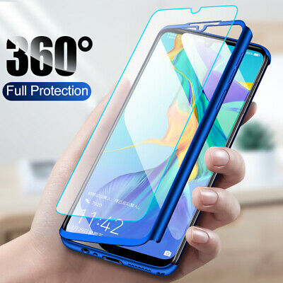 360° Full Protection Cover Coque Housse + Film Pr Huawei P Smart 2019 Slim Matte