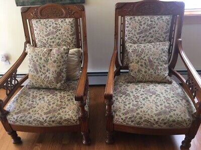 ESTATE SALE Vintage Pair of Arm Chairs